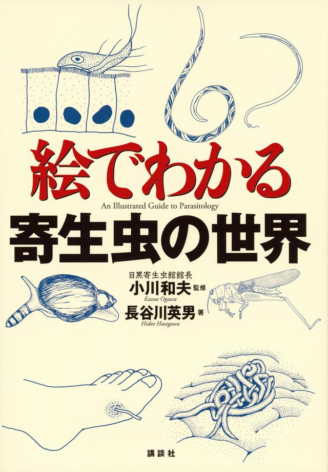 『絵でわかる寄生虫の世界』書影