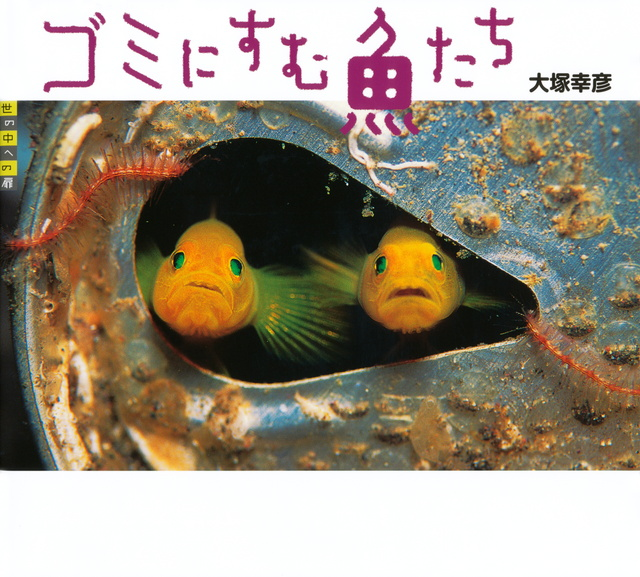ゴミにすむ魚たち