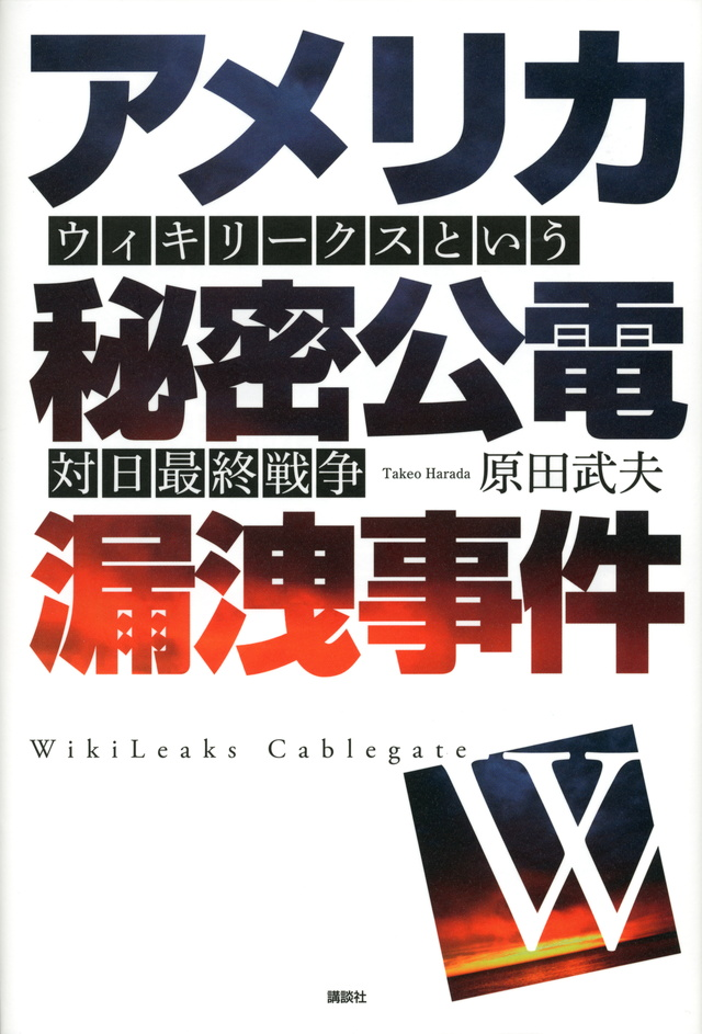 アメリカ秘密公電漏洩事件 ウィキリークスという対日最終戦争