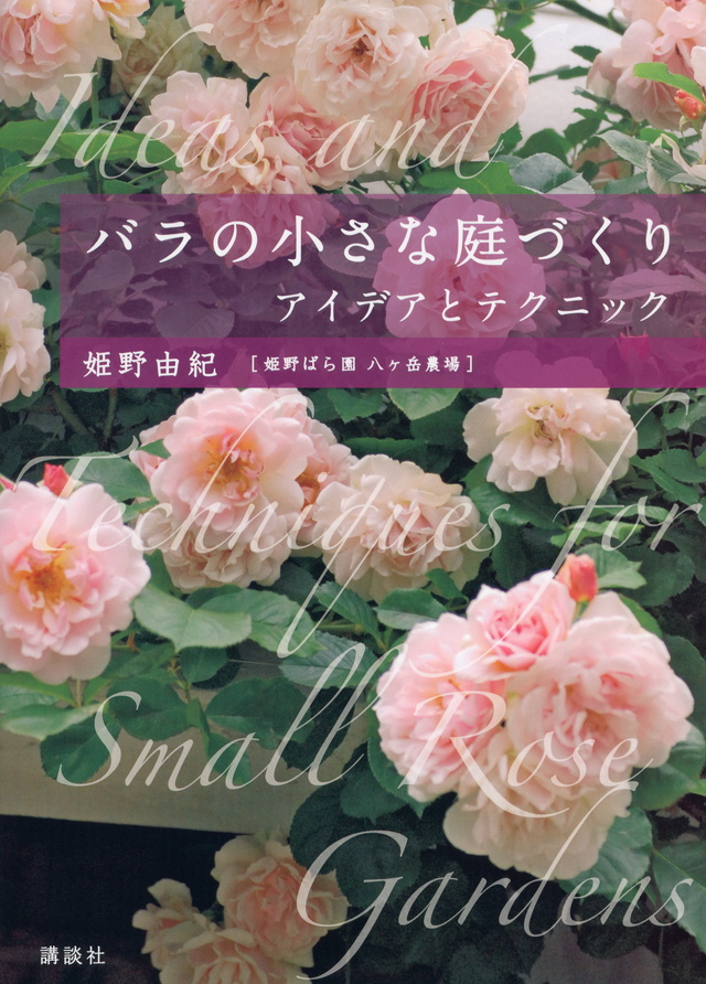 バラの小さな庭づくり アイデアとテクニック