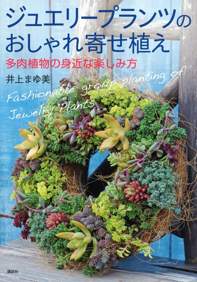 ジュエリープランツのおしゃれ寄せ植え 多肉植物の身近な楽しみ方