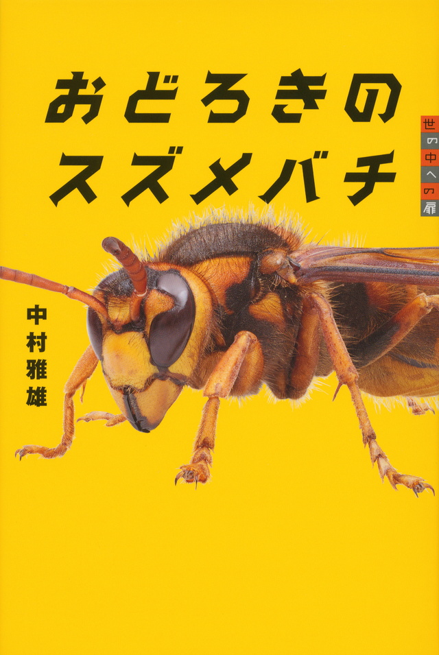 おどろきのスズメバチ