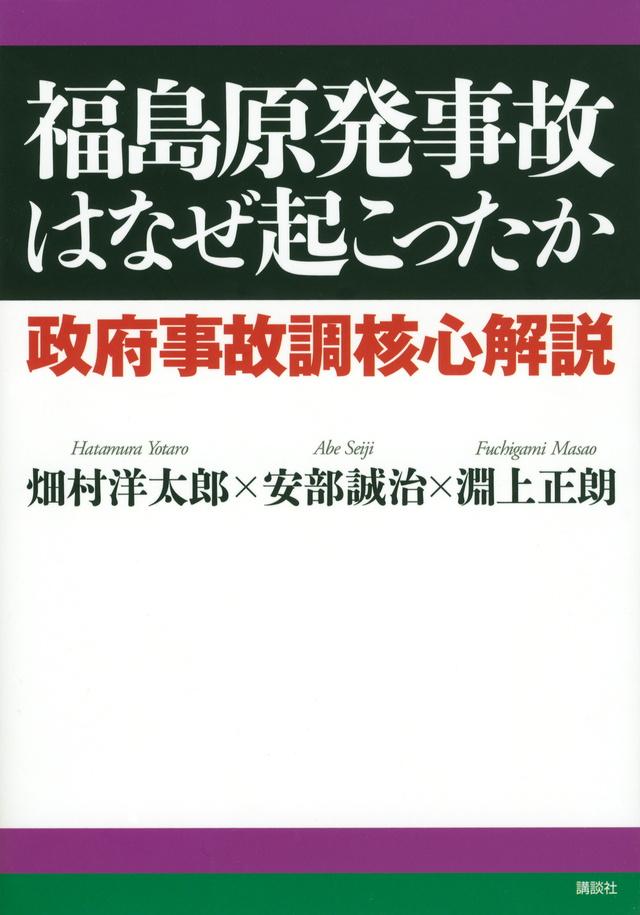 福島原発事故はなぜ起こったか 政府事故調核心解説
