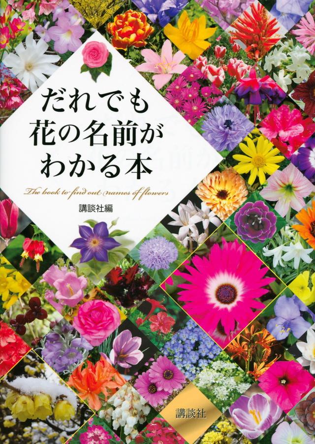 だれでも花の名前がわかる本