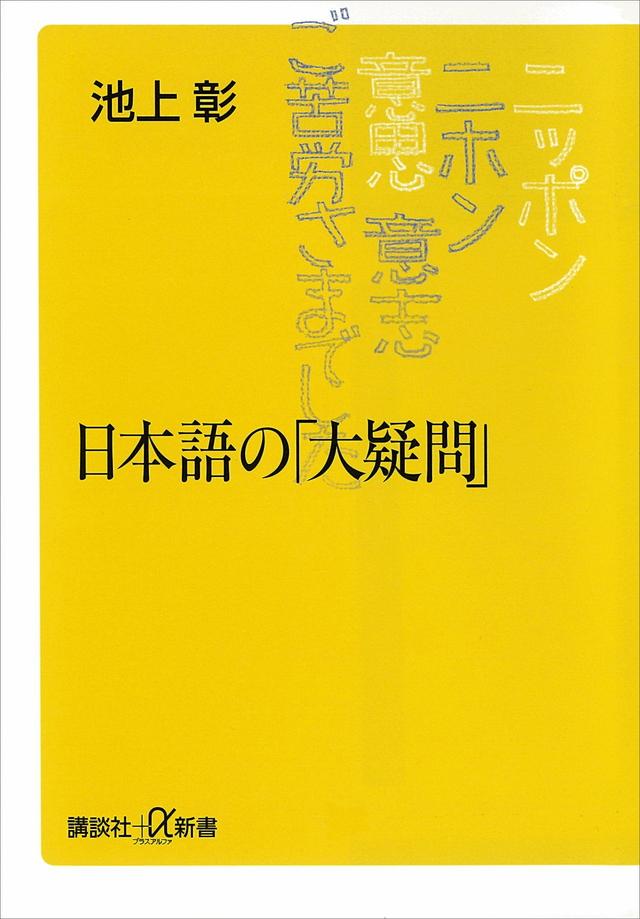日本語の「大疑問」