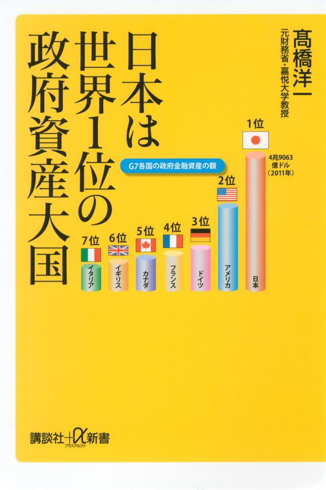 日本は世界1位の政府資産大国