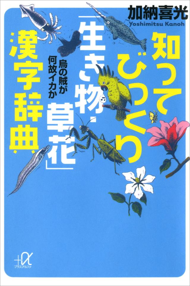 知ってびっくり「生き物・草花」漢字辞典――烏の賊が何故イカか