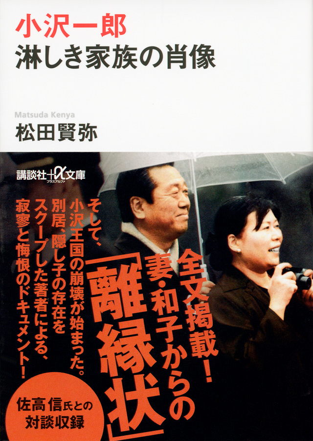 小沢一郎 淋しき家族の肖像