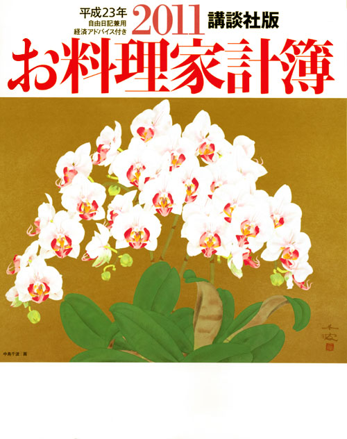 講談社版2011お料理家計簿