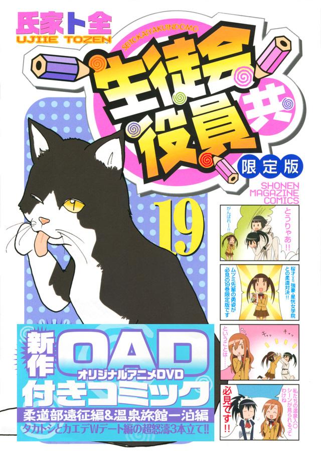 DVD付き 生徒会役員共(19)限定版
