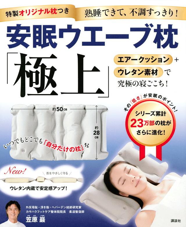 特製オリジナル枕つき 安眠ウエーブ枕 「極上」