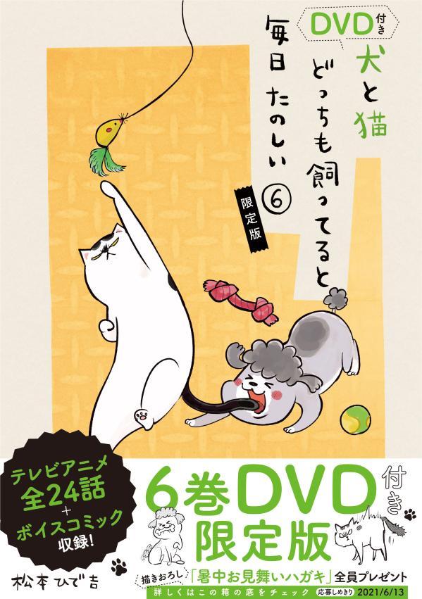 DVD付き 犬と猫どっちも飼ってると毎日たのしい(6)限定版