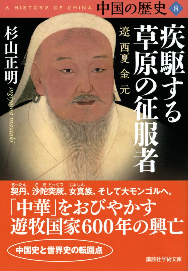 中国の歴史8 疾駆する草原の征服者 遼 西夏 金 元